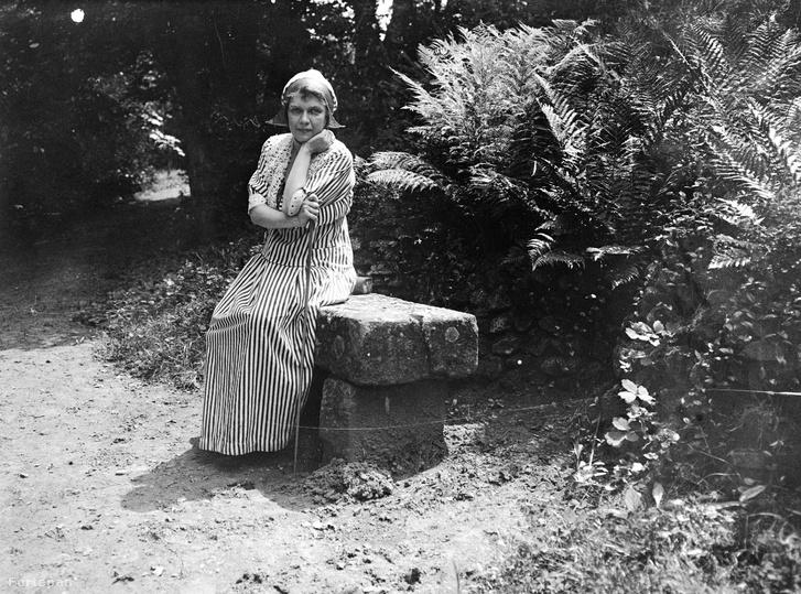 Egy jó gazdaasszony 1920-ból: Vízári Mariska