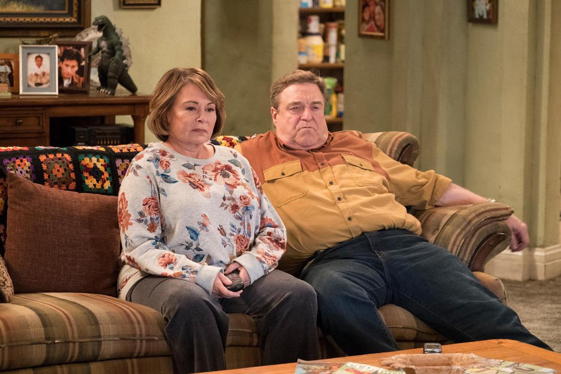 Roseann Barr és John Goodman a sorozatban