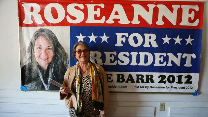 roseanne president 2012