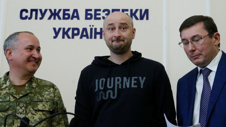 Mégis él a meggyilkolt orosz újságíró