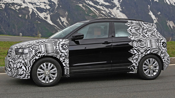 Kémfotókon a Volkswagen kis terepjárója