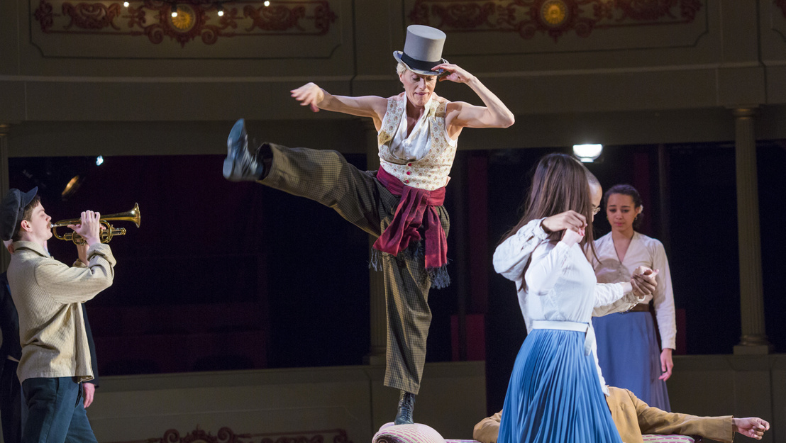Eva Magyar as Charlotta. Photos Jon Rowley