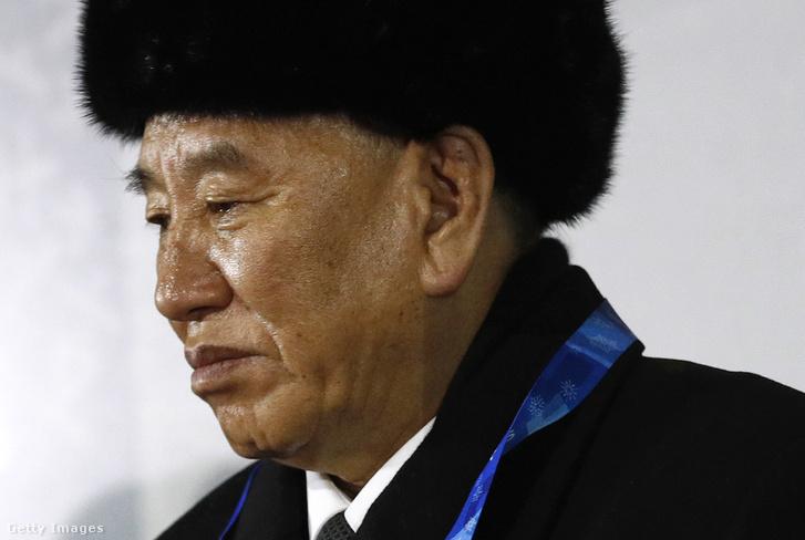 Kim Jongcsol a pjongcsangi téli olimpián