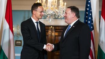 Szijjártó Péter találkozott az amerikai külügyminiszterrel
