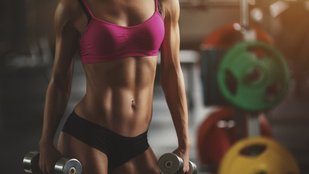 Túl kihívó sportmelltartóban edzeni?