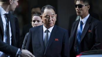 Észak-Korea erős emberével tárgyalt az amerikai külügyminiszter