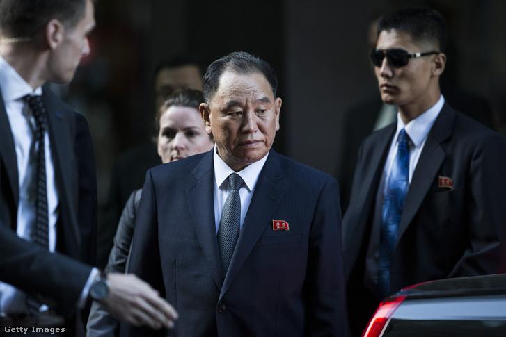 Kim Jongcsol New York-ban