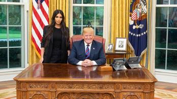 Trump vicsorogva fogadta Kim Kardashiant