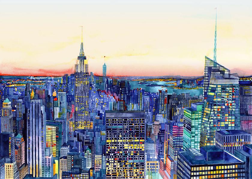 New York, Amerikai Egyesült Államok.