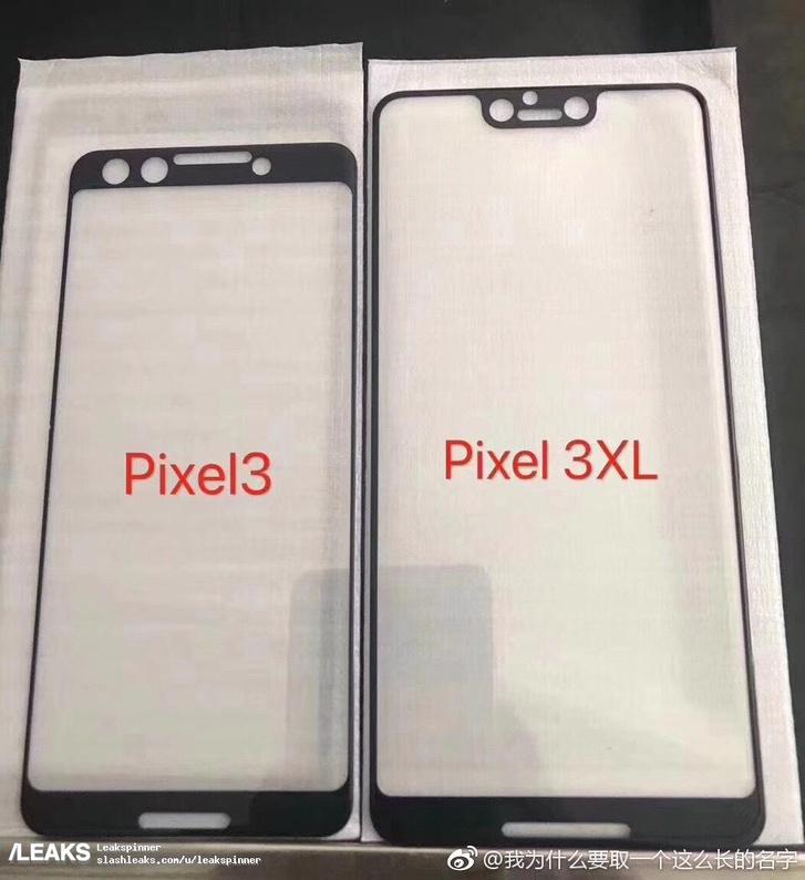A képernyőt védő borításról kiszivárgott fotó szerint kb ilyenek lesznek az új Google telefonok