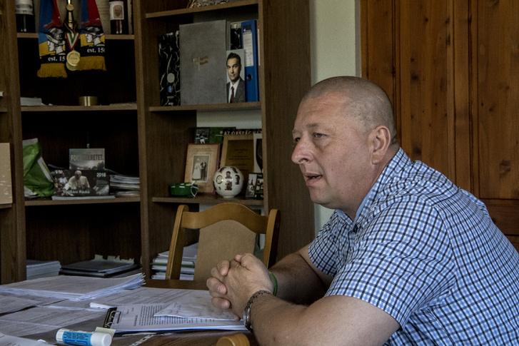 Sári László polgármester