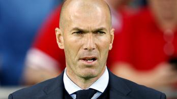 Zinedine Zidane lemondott öt nappal harmadik BL-győzelme után