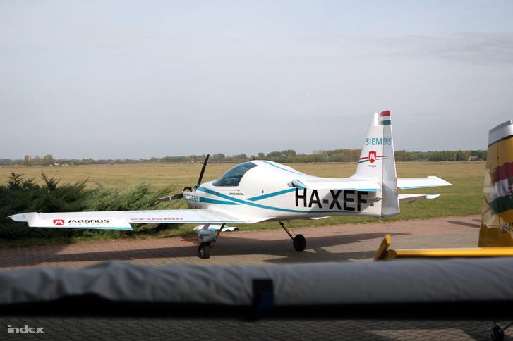 A HA-XEF kísérleti gép, ezért egyelőre csak korlátozott körben repülhet.
