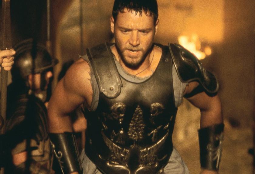 Így kigyúrta magát a Gladiátor című film kedvéért.