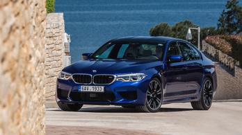Menetpróba: BMW M5 – 2018.