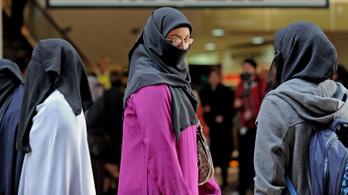 Dániában tilos lesz a burka hordása