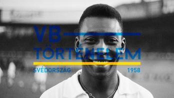 A 17 éves futballzseni, Pelé meghódítja a világot - Svédország, 1958