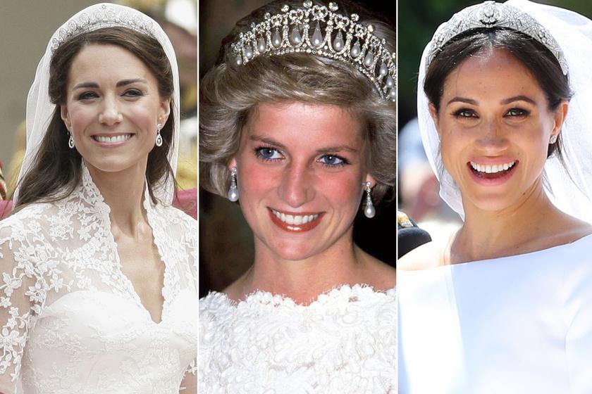 Így emlékeztek meg Diana hercegnőről - Katalin és Meghan fogják közre a közös képen