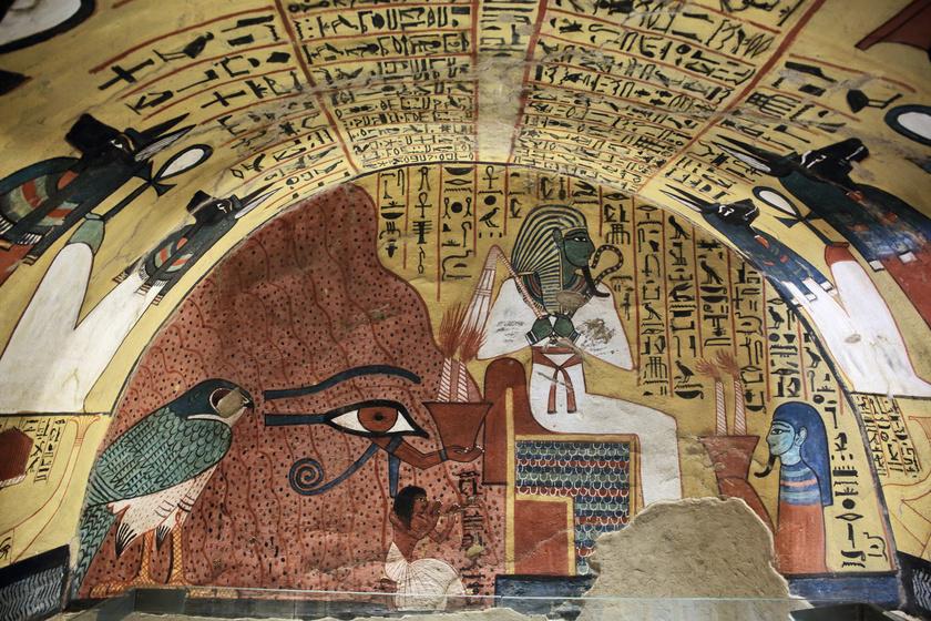 egyiptom-fárao-temetés-temetkezés-múmia