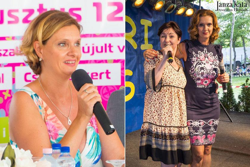A bal oldali fotó egy tavalyi fotó a színésznőről, a mellette lévő pedig most tavasszal készült.
