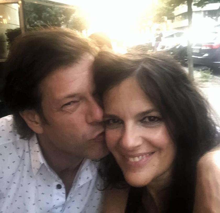 Till Attila ezzel a romantikus fotóval köszöntötte fel május 30-án a feleségét, aki a születésnapját ünnepelte.