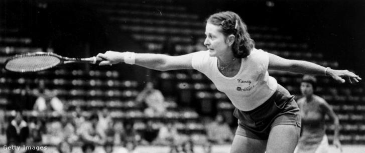 Francoise Dunn partnereként a Martina Navratilova - Anne Smith páros ellen 1978-ban