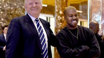 Kanye West segget csinált a szájából