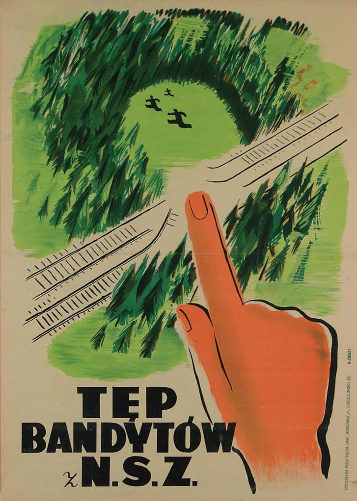 """""""Irtsd az NSZ banditáit"""", 1946"""