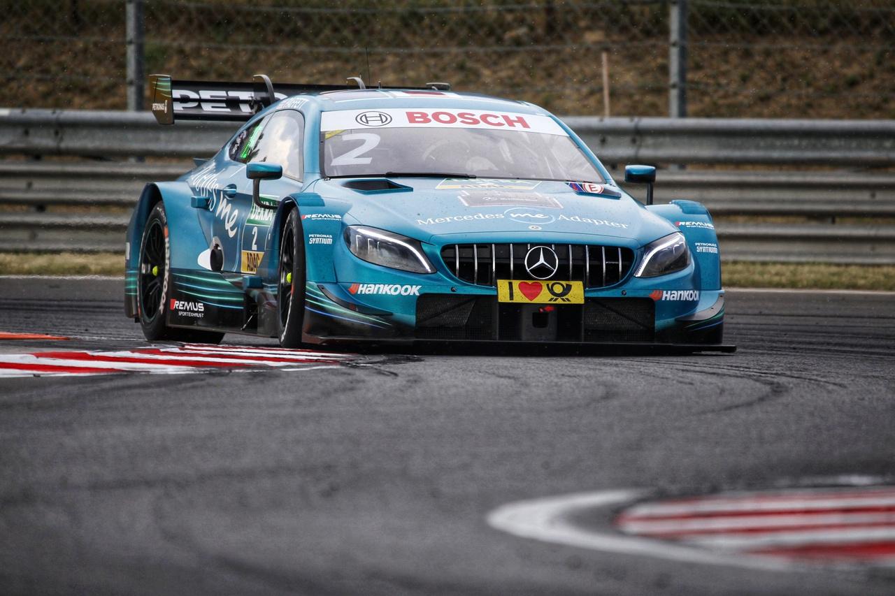 Paffett AMG Mercedesének van az egyik legszebb dizájnja és színe a mezőnyben, kár lenne, ha jövőre nem látnánk csillagot toló autókat a bajnokságban. Dieter az Auditól azt fejtegette, hogy a legnagyobb esélyt a sorozat folytatására 2019-ben amolyan átmeneti évnek látja, akár a WTCC esetében. Beszélt privát csapatok érdeklődéséről, gyári technikával. Emellett új, hangsúlyozottan nem japán gyártók komoly érdeklődéséről, ám ezekhez mind idő kell, amelyeknek a háttere néhány hónap alatt biztosan nem fog összeállni