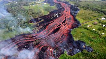 Több mint nyolcvan otthont puszított el eddig a Kilauea vulkán