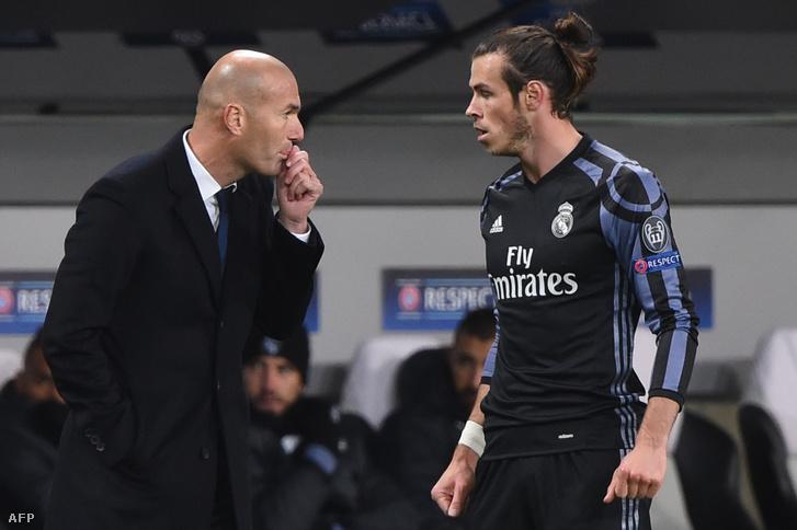Zidane és Bale (2016)