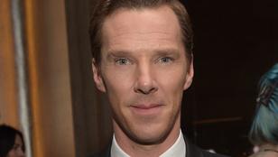 Benedict Cumberbatch négy emberrel verekedett össze, hogy megmentse egy biciklis életét