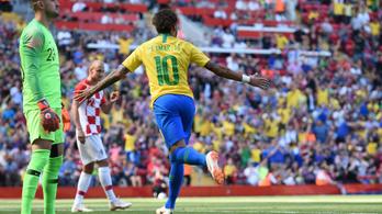 Neymar három hónap után nagy góllal tért vissza