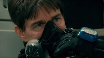 Tom Cruise addig fog ilyeneket művelni, amíg egyszer bele nem hal