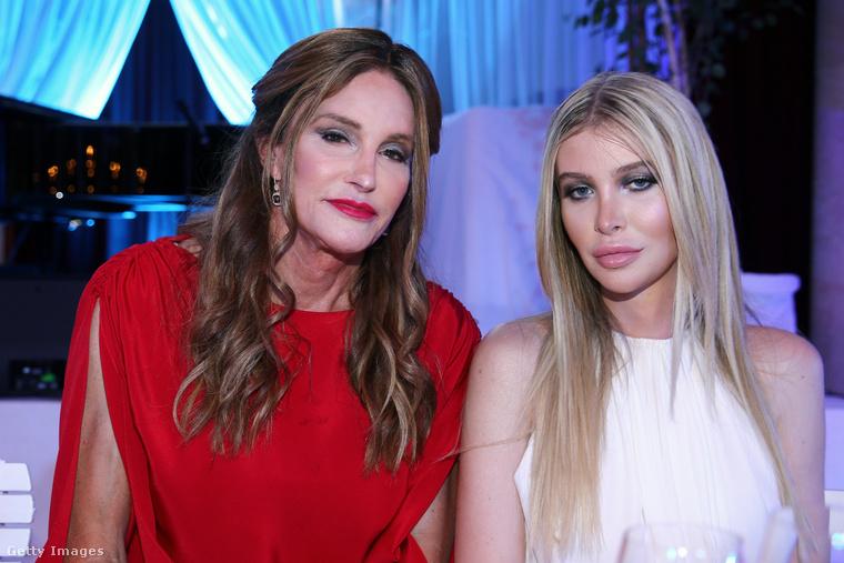 Ezen a képen Caitlyn Jenner és Sophia Hutchins látható.