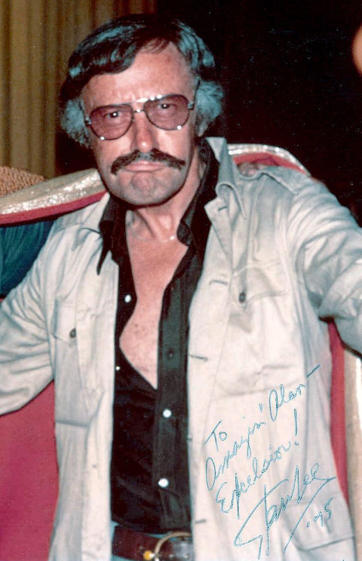 Lee ilyen menő volt az 1975-ös Comic-Con-on