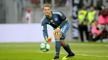 Neuer bekerült a német világbajnoki keretbe, Sané kimaradt