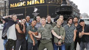 Channing Tatum beugrott a Britain's Got Talentbe a vetkőzőműsorra