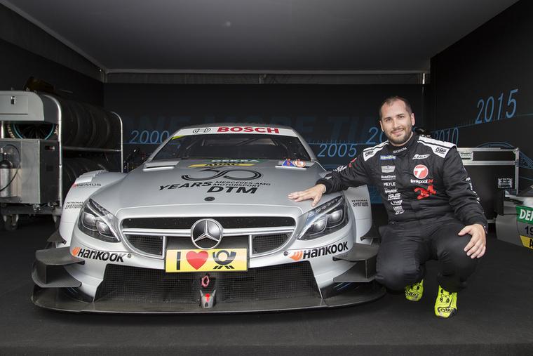 Kiss Norbi végül nem csupán belefért, hanem jól meg is hajtotta az AMG Mercedest
