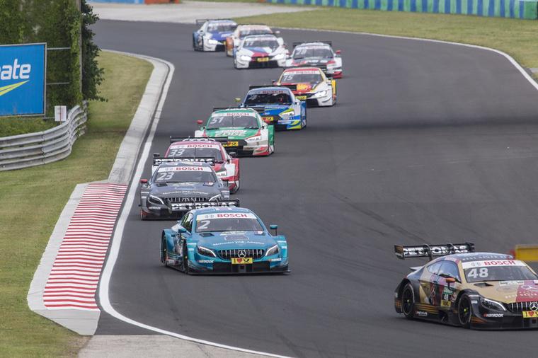 Fordulatokban gazdag verseny tudott lenni, érdekes, a DTM-autók tudnak előzni a Hungaroringen.