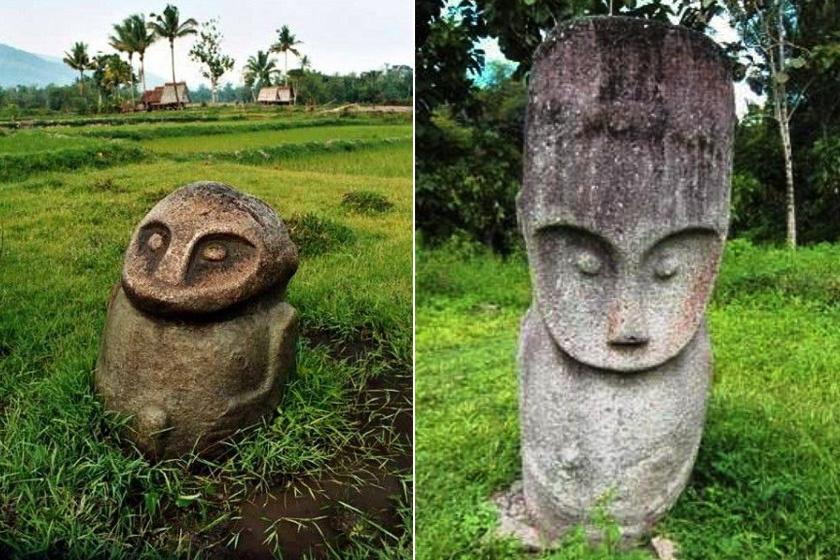 A szobrokat i. e. 3000 és i. sz. 1300 között készíthették a szakértők szerint.
