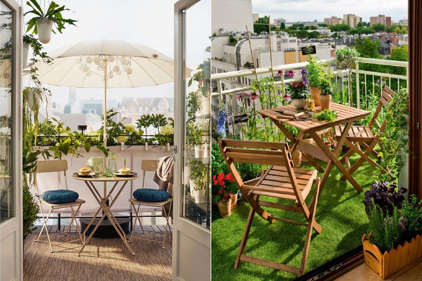 Tündéri, zöld szigetek a város közepén: 10 gyönyörű erkély