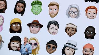 Arcunkat utánzó Memoji is lesz az iOS 12-ben