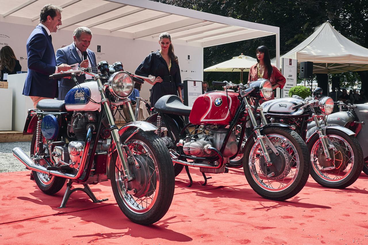 """A végső sorrend a """"Német és angol motorok új ruhában"""" kategóriában: Indian, Norvin, Zabroczky-BMW"""