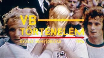 Az NSZK-t a totális futball sem győzte le - NSZK, 1974