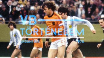 Argentínát a vb-aranyig tolta a diktatúra - Argentína, 1978