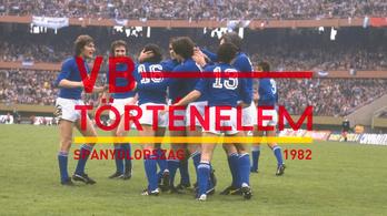 Vb-történelmi rekorddal indítottak a magyarok – Spanyolország, 1982