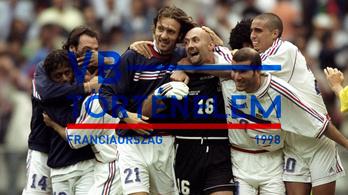 Beckham bűnbak, Zidane isten lett - Franciaország, 1998