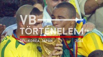 Ronaldo Brazíliája botrányvébét nyert - Japán, Dél-Korea, 2002