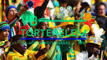 Zúgott a vuvuzela, a spanyolok történelmet írtak - Dél-Afrika, 2010